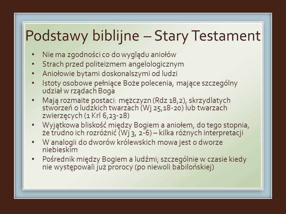 Podstawy biblijne – Stary Testament
