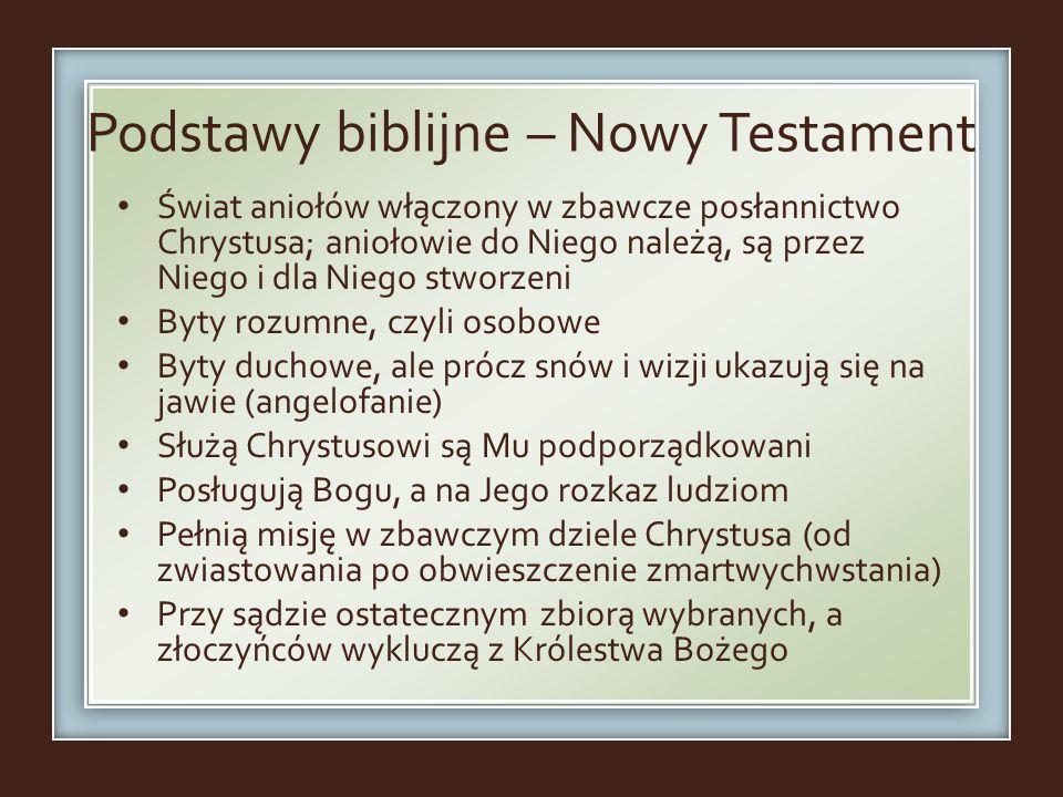 Podstawy biblijne – Nowy Testament