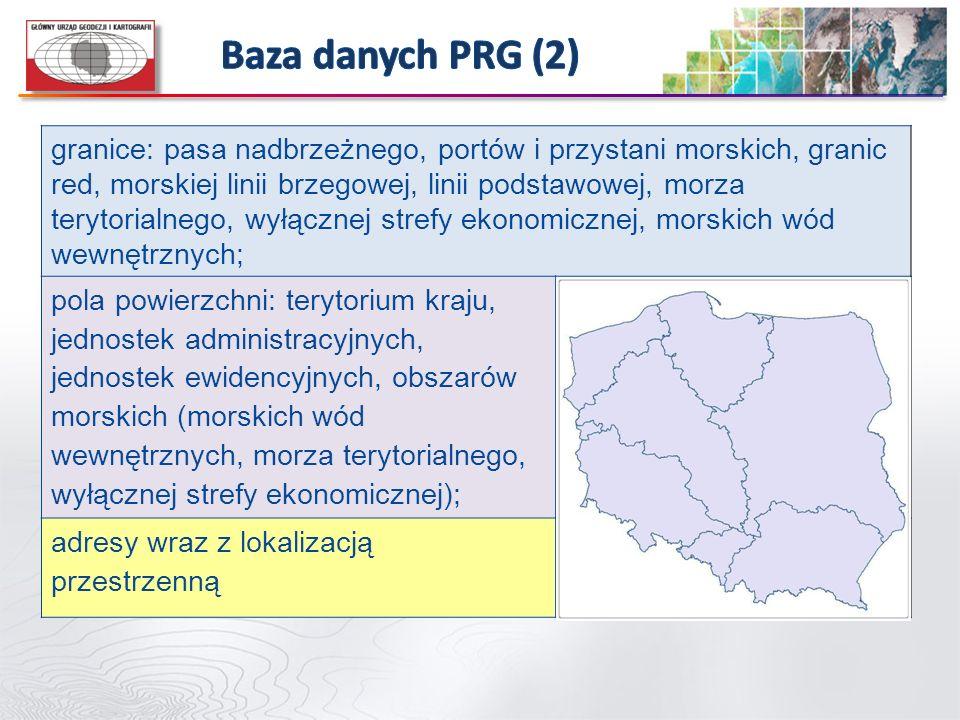 Baza danych PRG (2)
