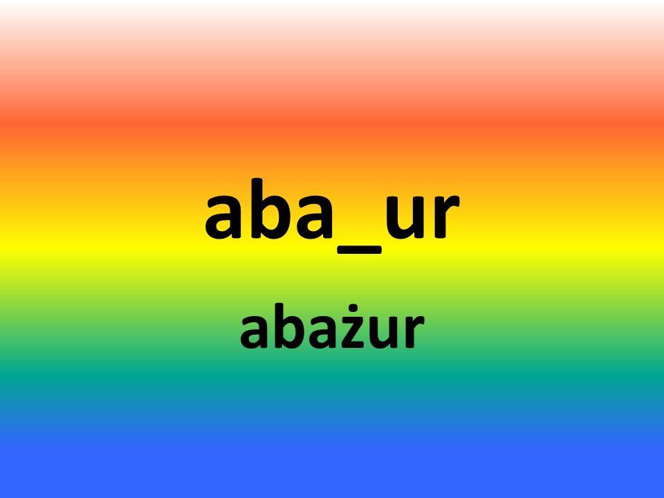 aba_ur abażur