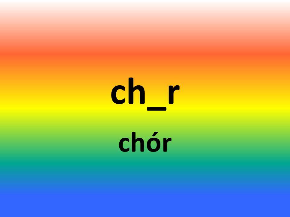 ch_r chór