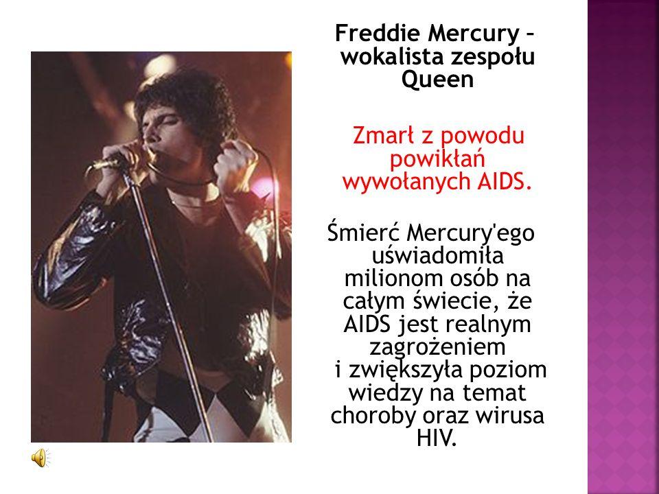 Freddie Mercury – wokalista zespołu Queen