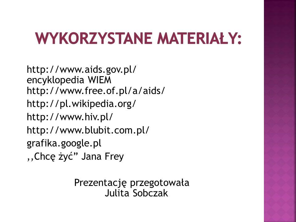 Wykorzystane materiały: