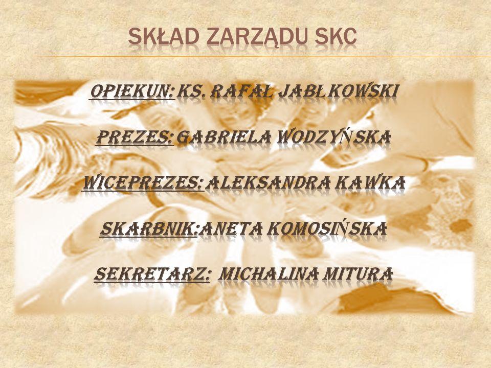 skład zarządu sKC opiekun: ks