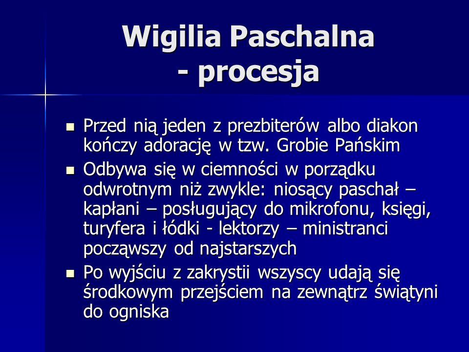 Wigilia Paschalna - procesja
