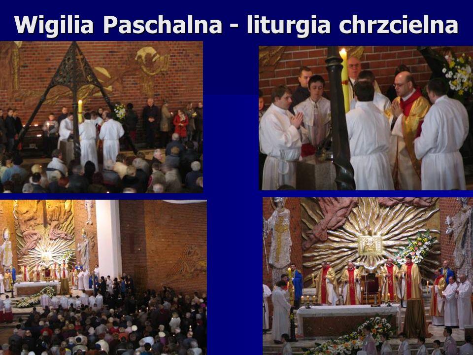 Wigilia Paschalna - liturgia chrzcielna