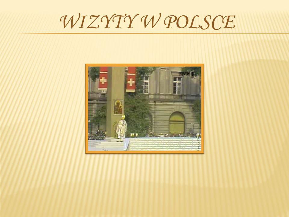 Wizyty w Polsce