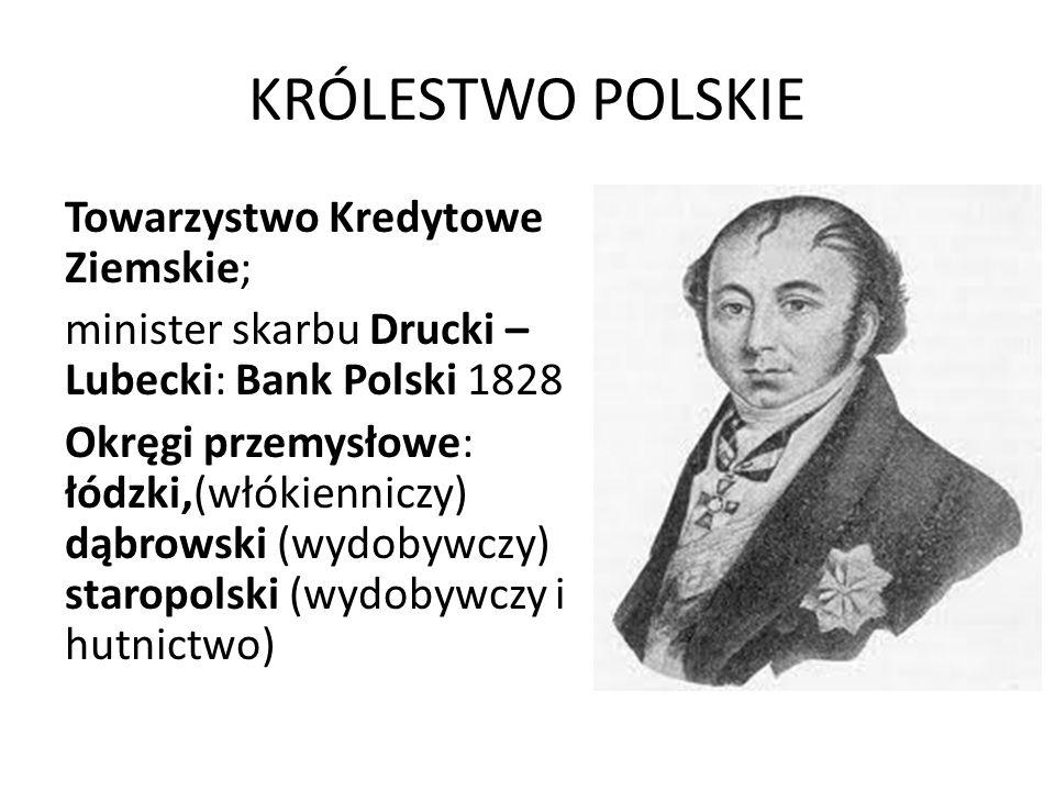 KRÓLESTWO POLSKIE Towarzystwo Kredytowe Ziemskie;