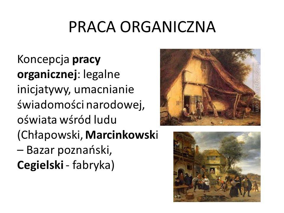 PRACA ORGANICZNA