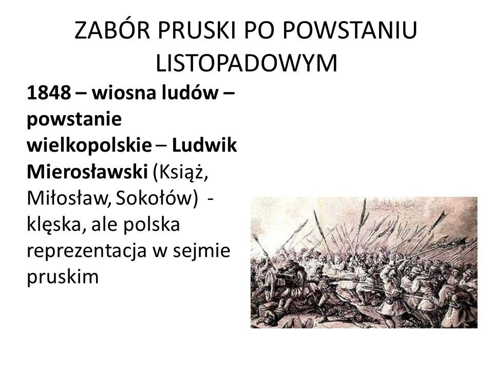 ZABÓR PRUSKI PO POWSTANIU LISTOPADOWYM