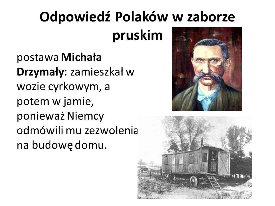 Odpowiedź Polaków w zaborze pruskim