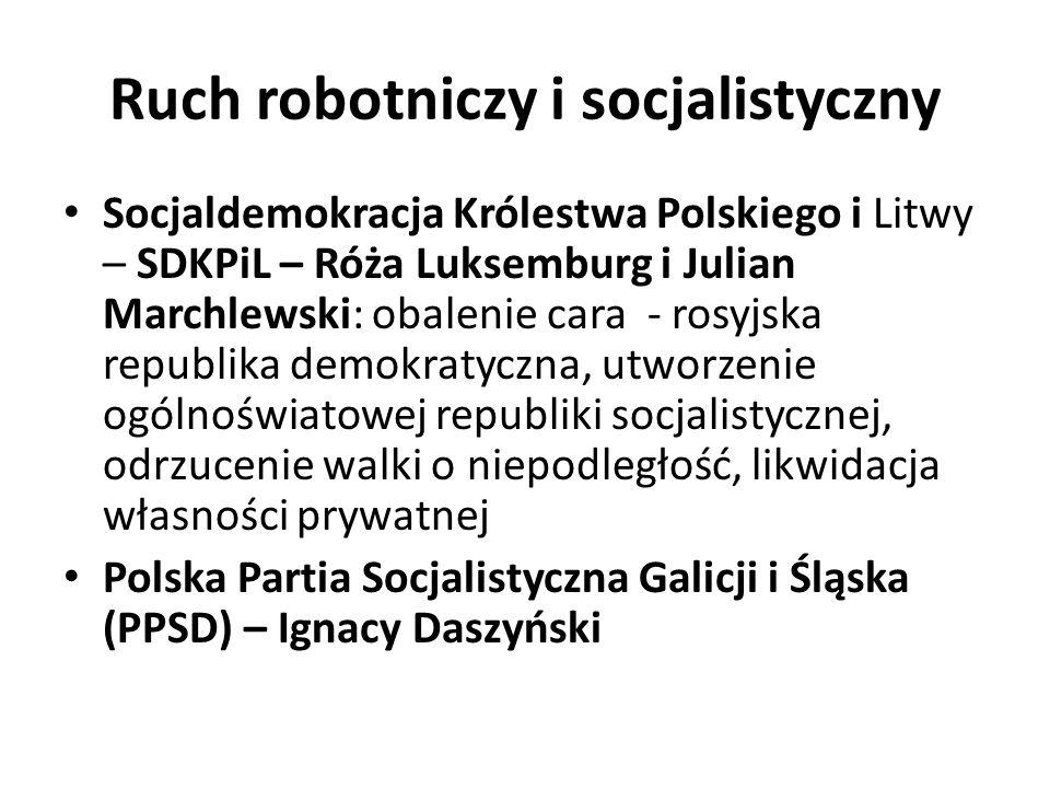 Ruch robotniczy i socjalistyczny