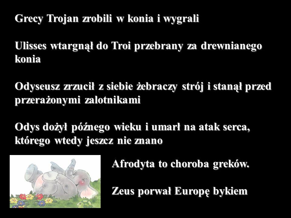 Grecy Trojan zrobili w konia i wygrali