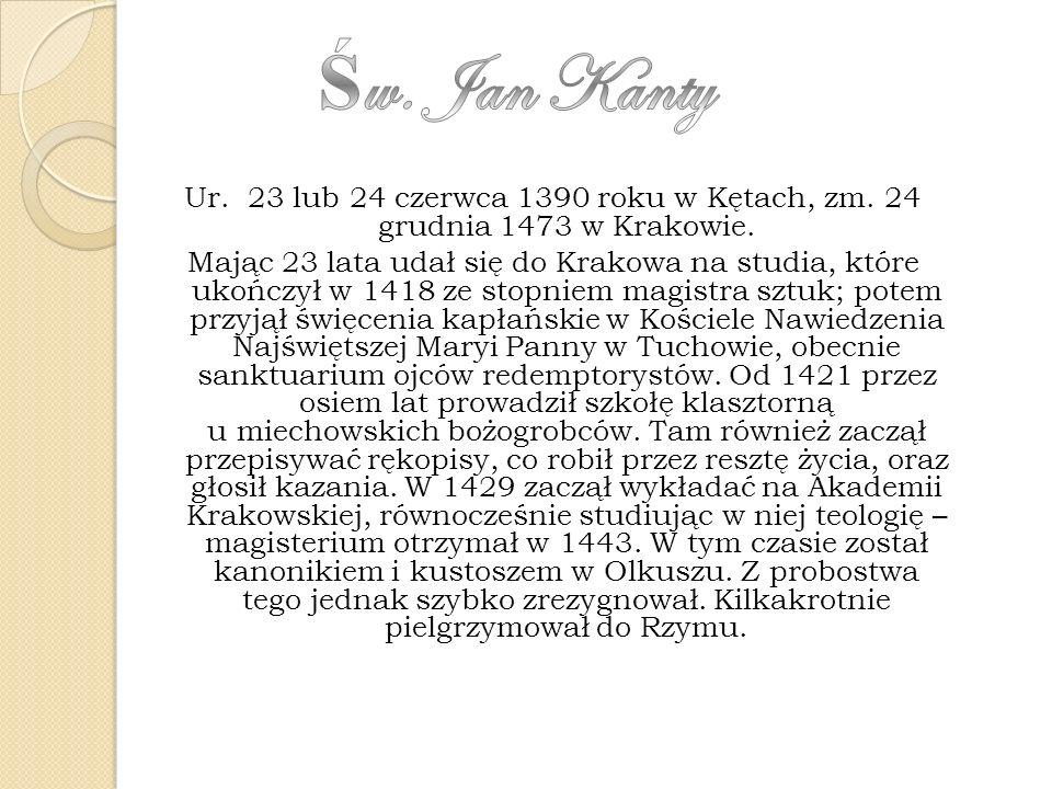Św. Jan Kanty