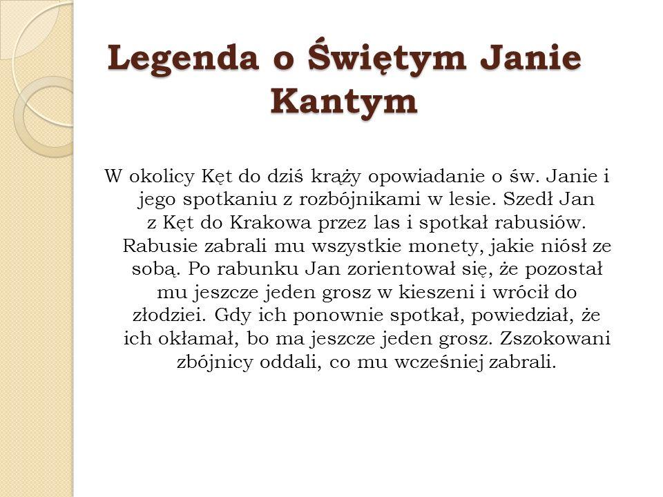 Legenda o Świętym Janie Kantym