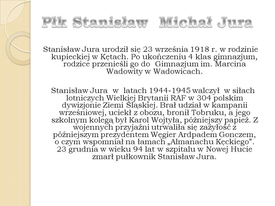 Płk Stanisław Michał Jura