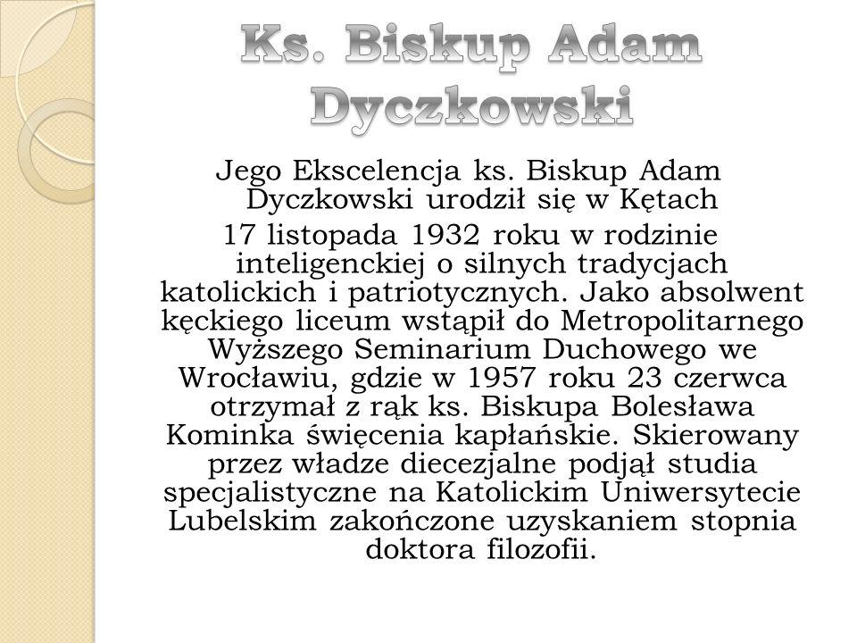 Ks. Biskup Adam Dyczkowski