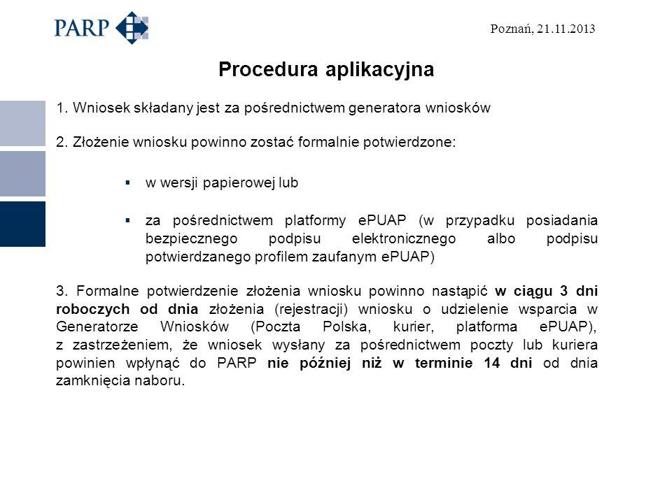 Procedura aplikacyjna