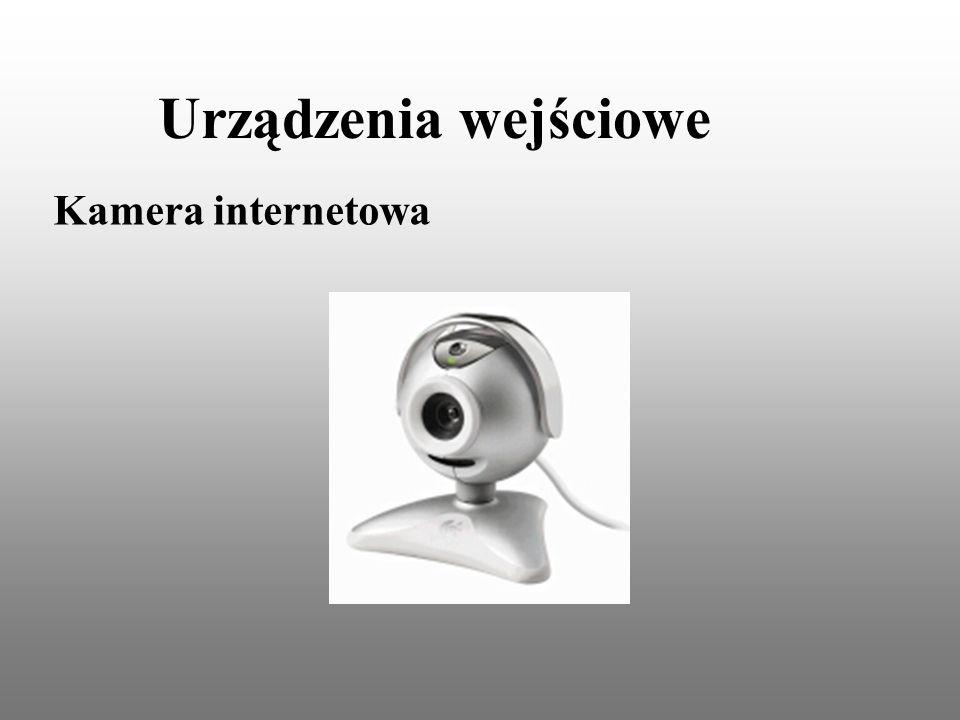 Urządzenia wejściowe Kamera internetowa