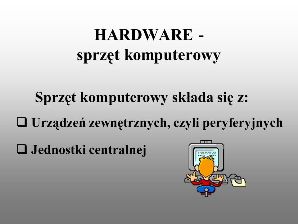 HARDWARE - sprzęt komputerowy
