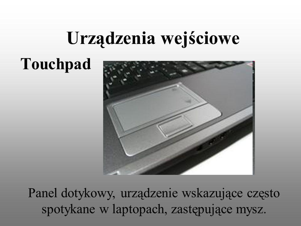 Urządzenia wejściowe Touchpad