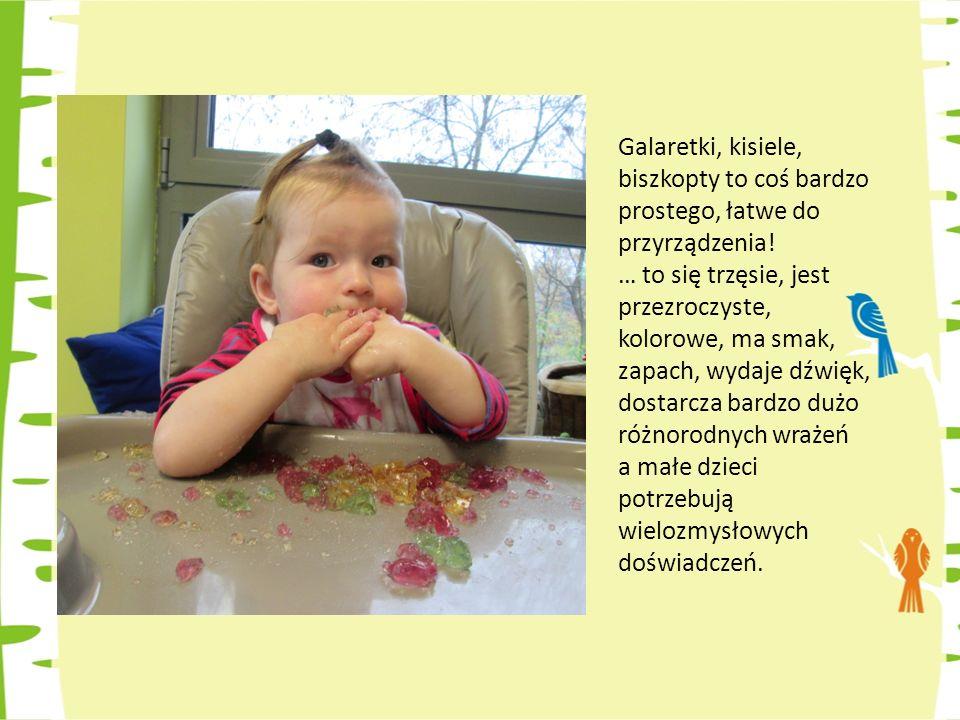 Galaretki, kisiele, biszkopty to coś bardzo prostego, łatwe do przyrządzenia!