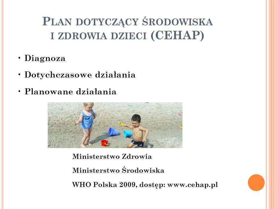 Plan dotyczący środowiska i zdrowia dzieci (CEHAP)