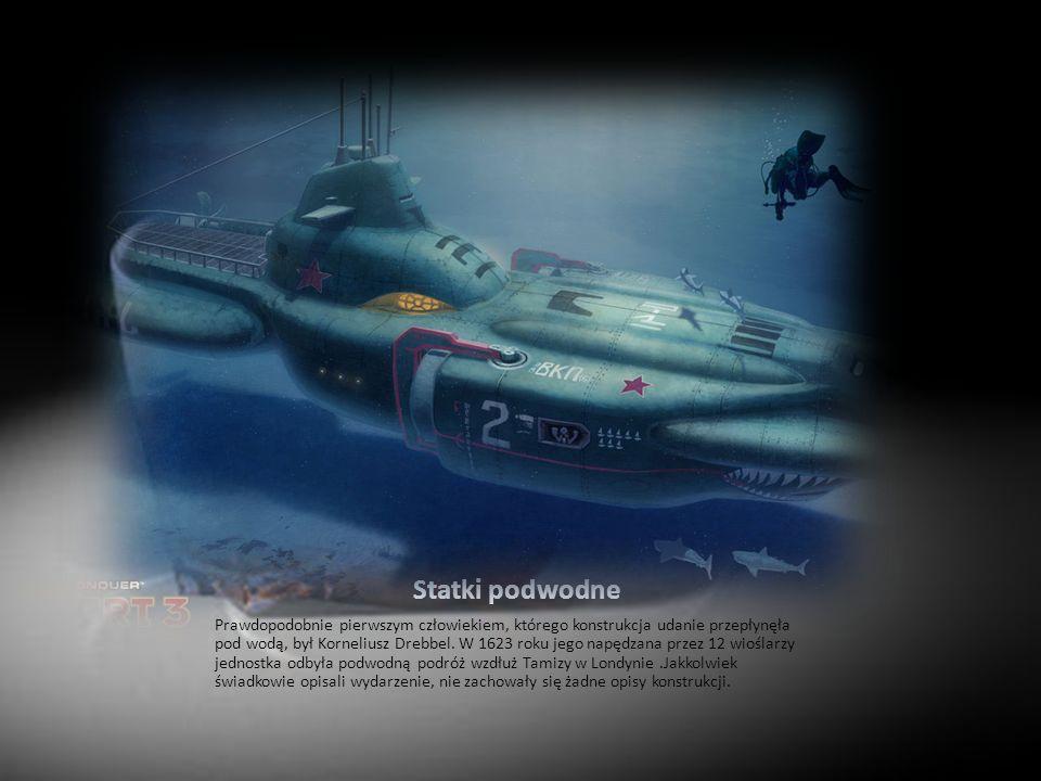 Statki podwodne