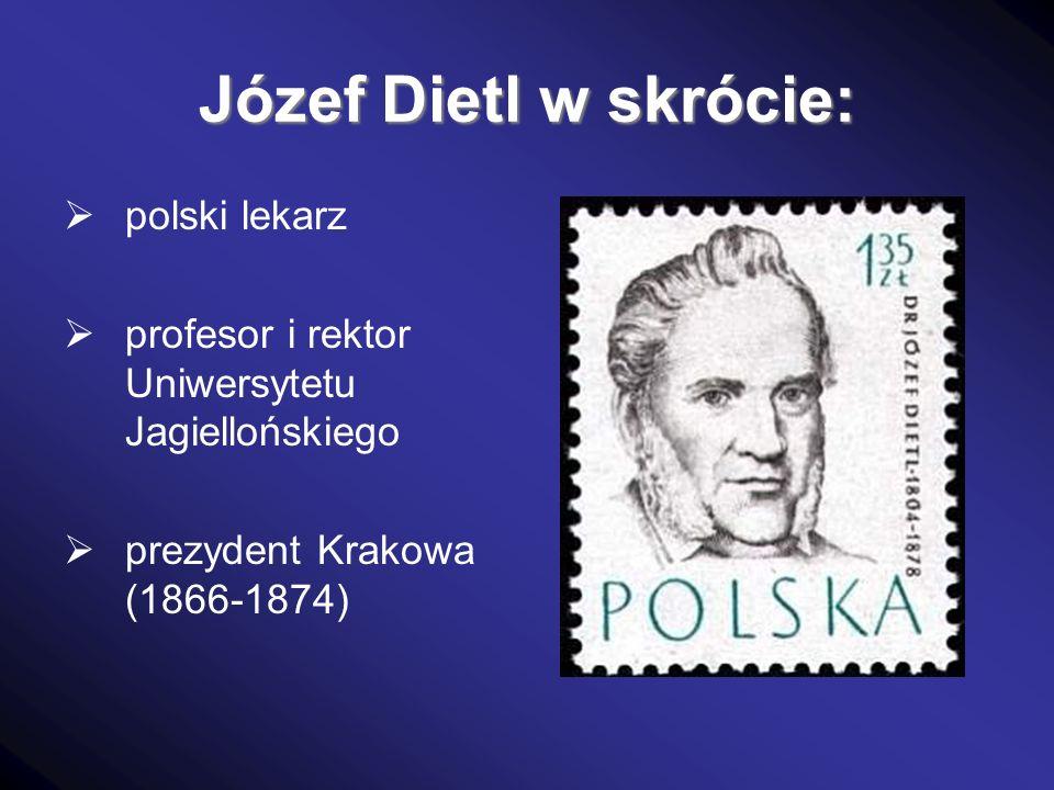Józef Dietl w skrócie: polski lekarz
