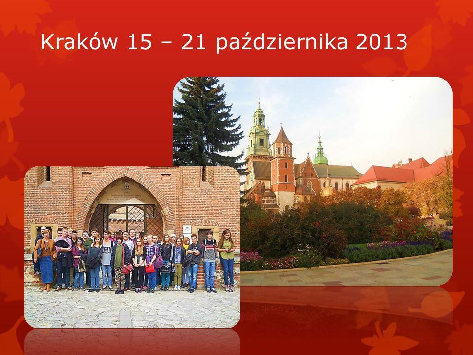 Kraków 15 – 21 października 2013