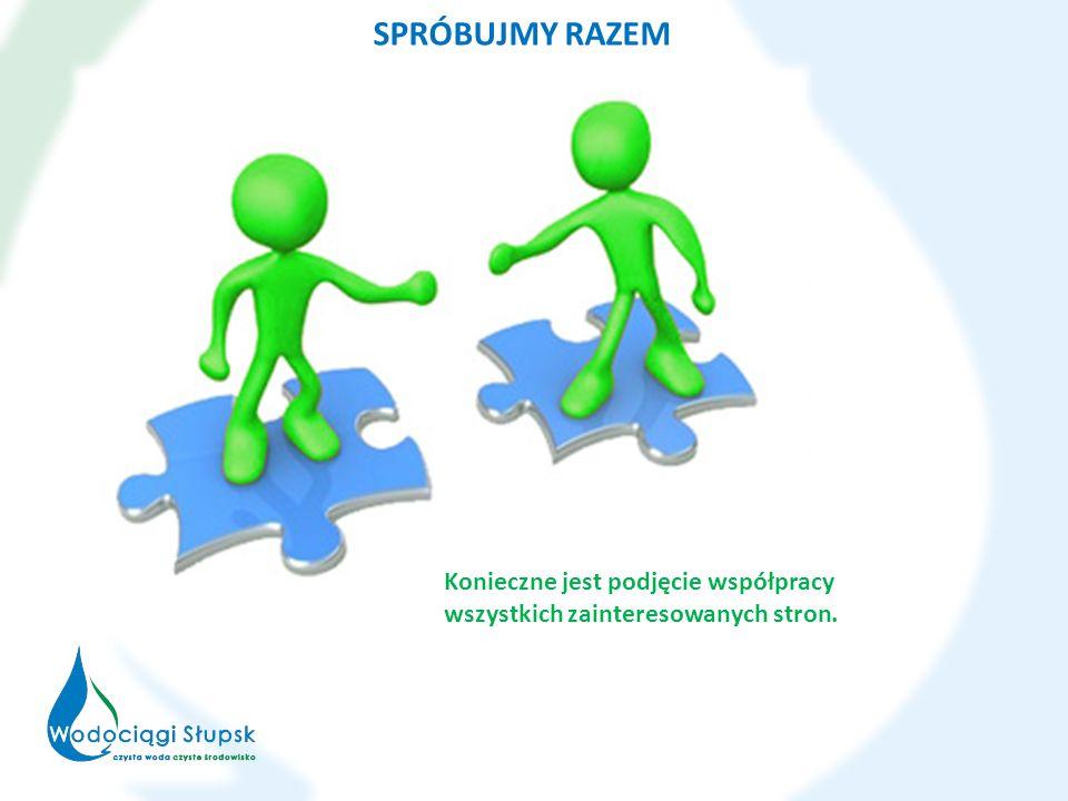 SPRÓBUJMY RAZEM Konieczne jest podjęcie współpracy wszystkich zainteresowanych stron.