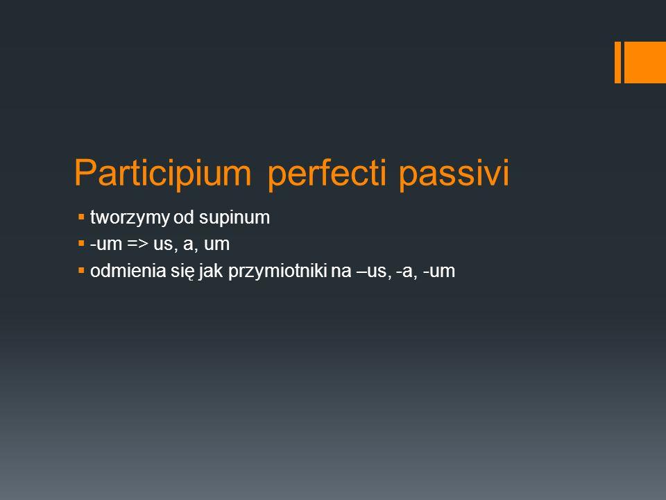 Participium perfecti passivi