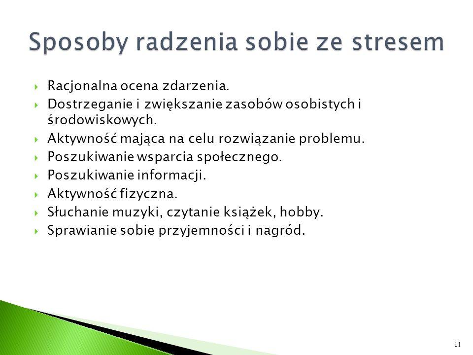 Sposoby radzenia sobie ze stresem
