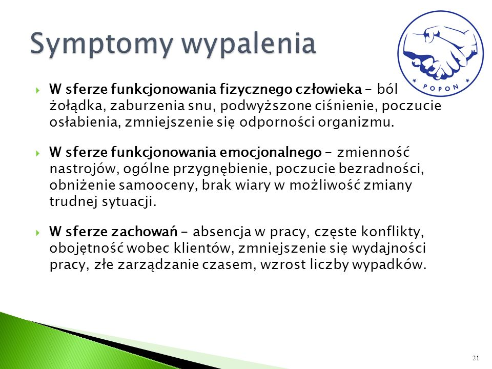 Symptomy wypalenia