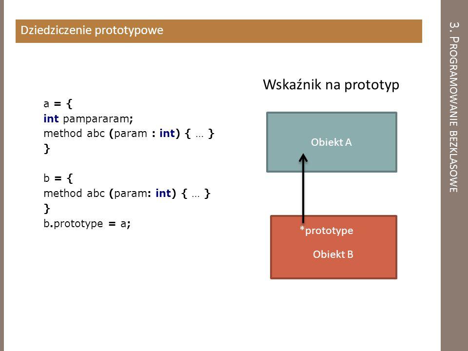 3. Programowanie bezklasowe
