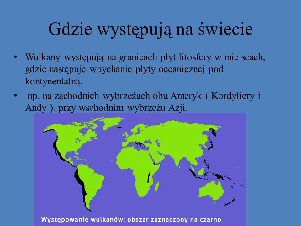 Gdzie występują na świecie
