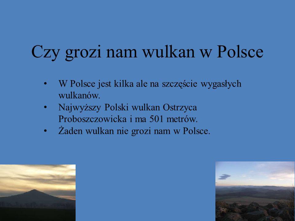 Czy grozi nam wulkan w Polsce