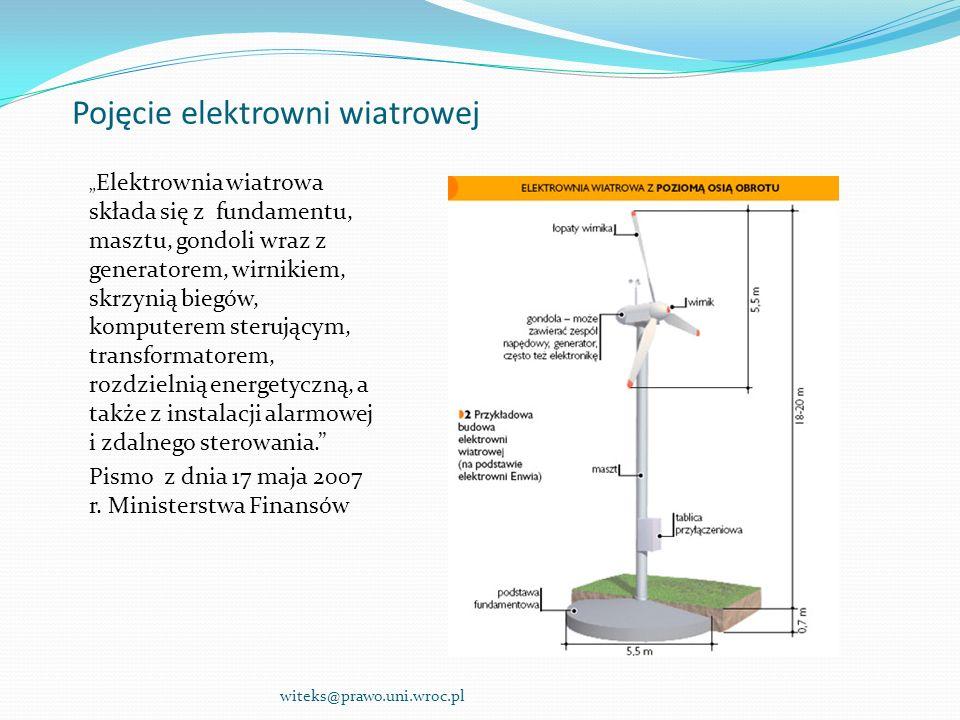 Pojęcie elektrowni wiatrowej