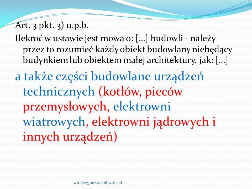 Art. 3 pkt. 3) u.p.b.