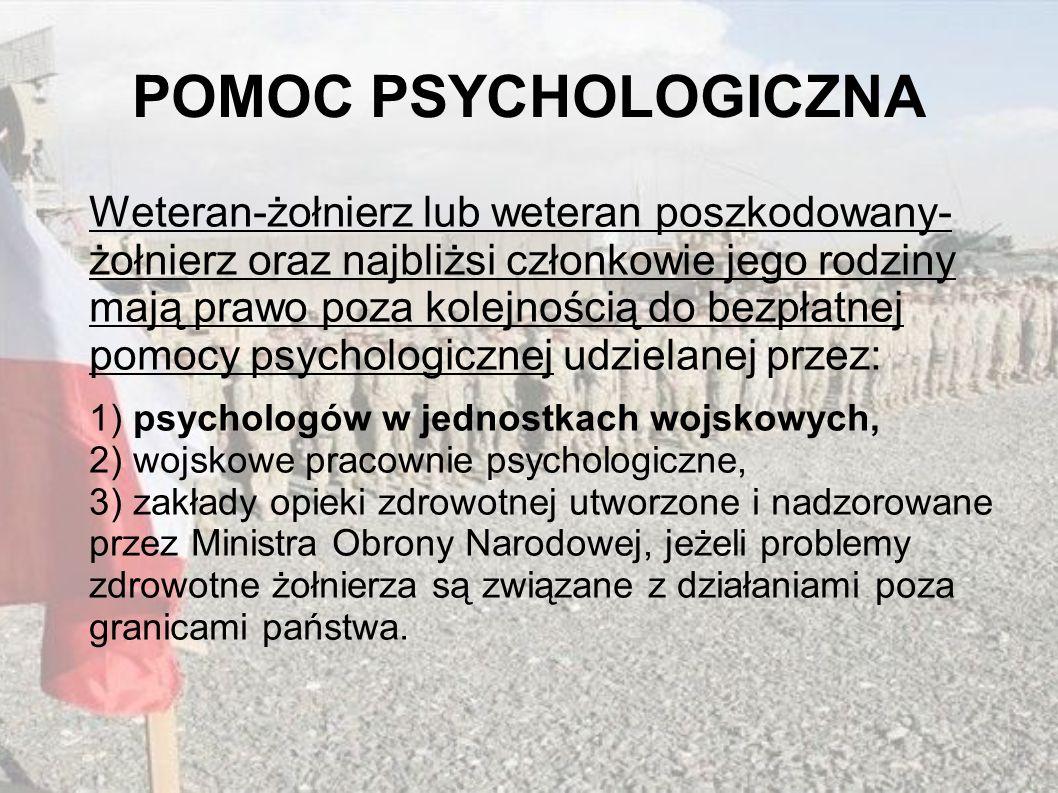 POMOC PSYCHOLOGICZNA