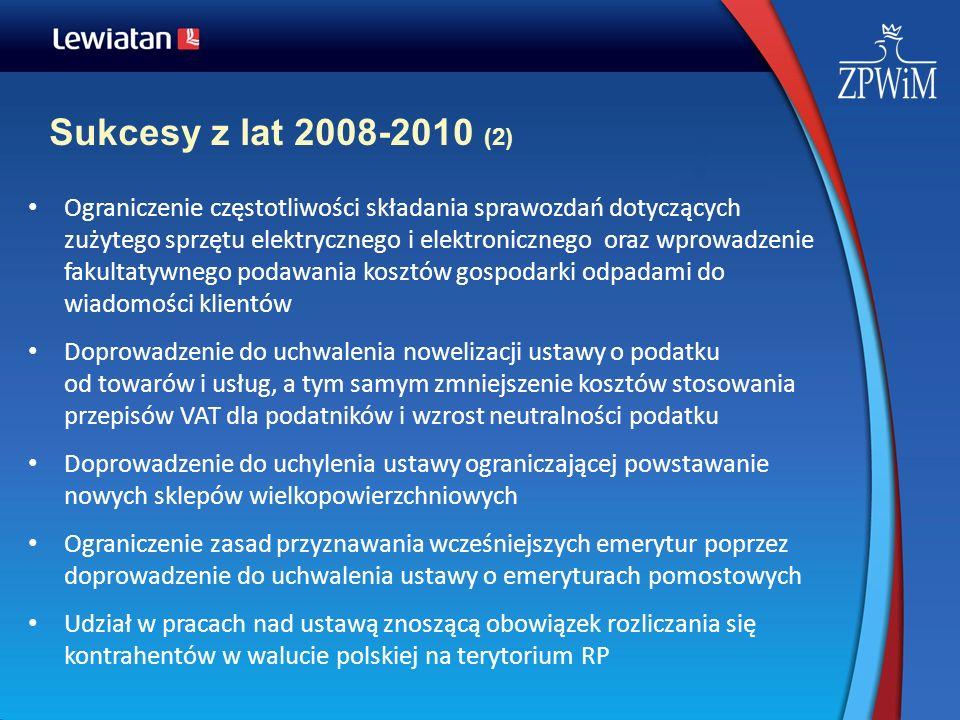 Sukcesy z lat 2008-2010 (2)