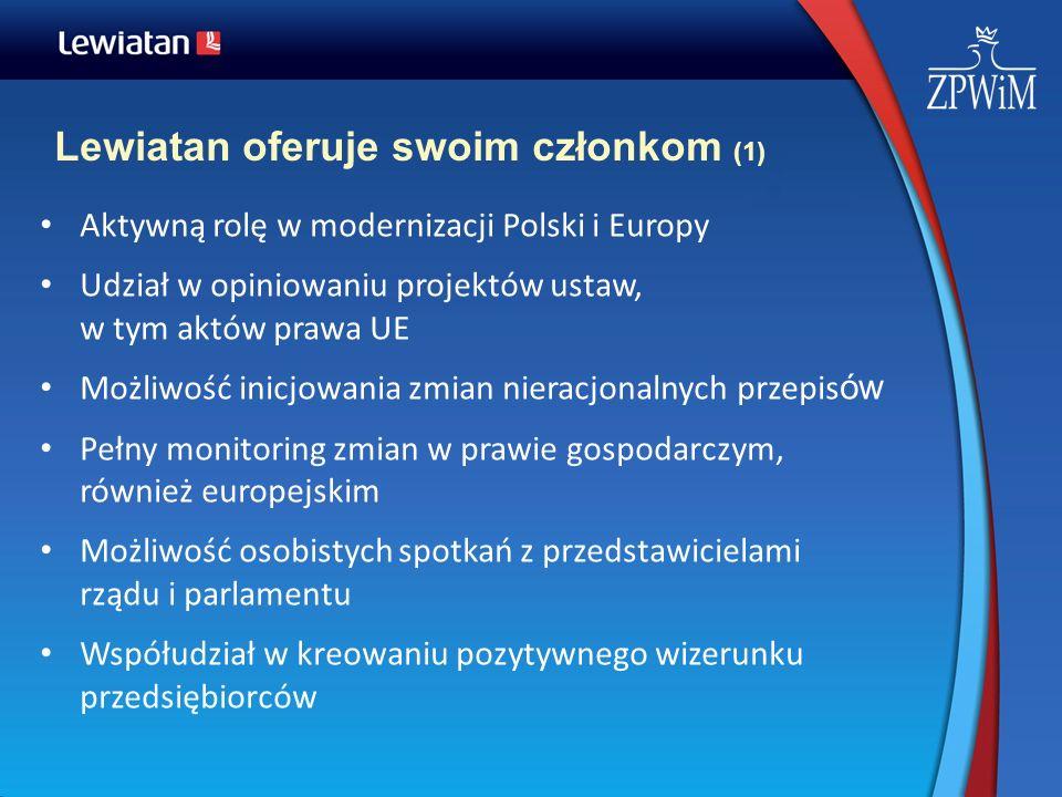 Lewiatan oferuje swoim członkom (1)