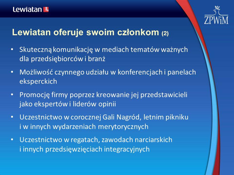 Lewiatan oferuje swoim członkom (2)