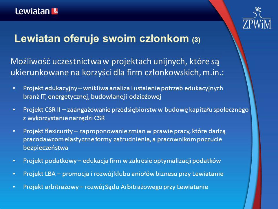 Lewiatan oferuje swoim członkom (3)