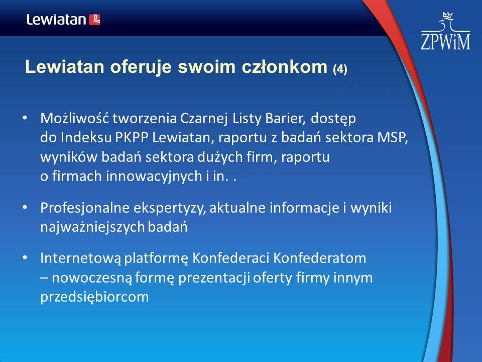 Lewiatan oferuje swoim członkom (4)