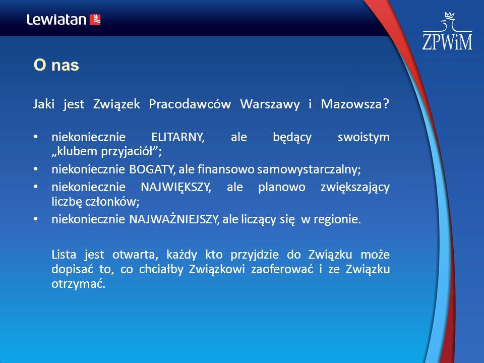O nas Jaki jest Związek Pracodawców Warszawy i Mazowsza