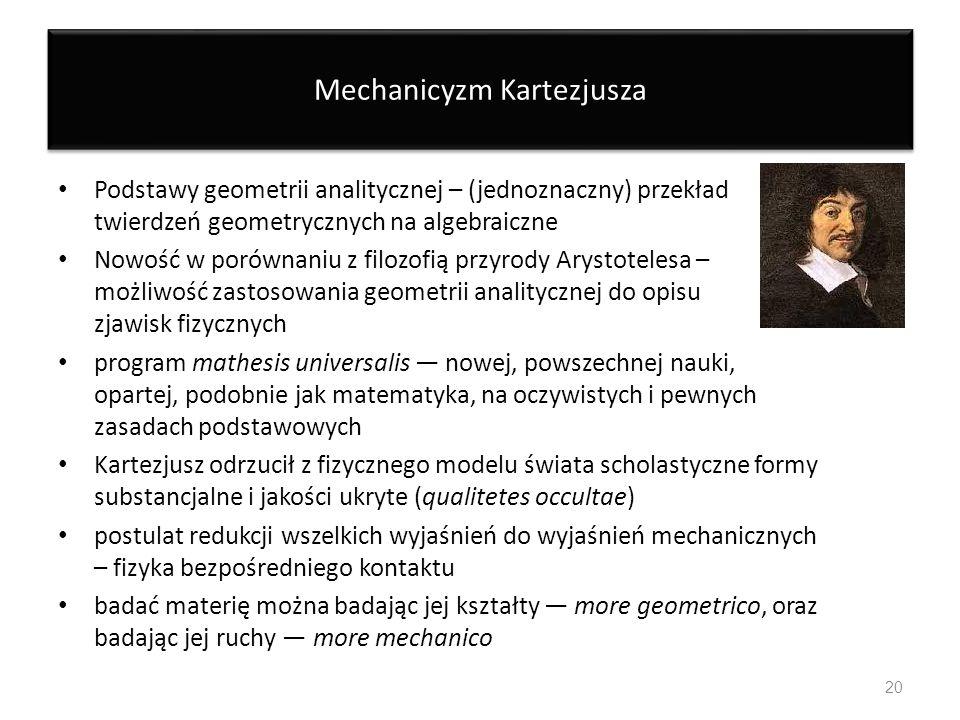 Mechanicyzm Kartezjusza