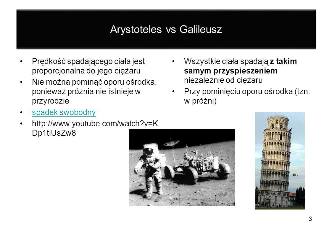 Arystoteles vs Galileusz