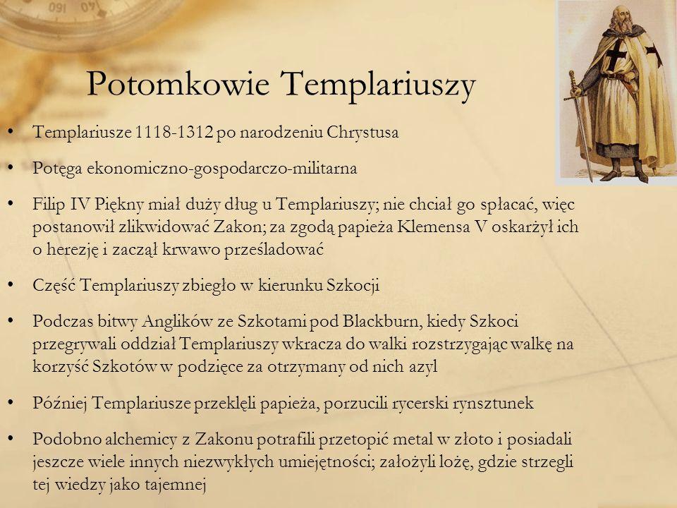 Potomkowie Templariuszy
