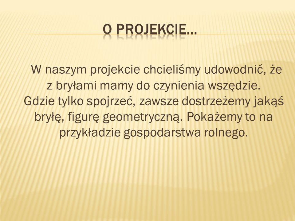 O Projekcie…